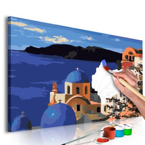 Quadro fai da te - Santorini - Quadri e decorazioni