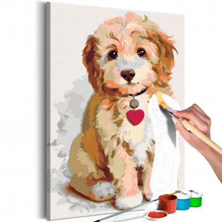 Quadro fai da te - Cagnolino (cucciolo) - Quadri e decorazioni