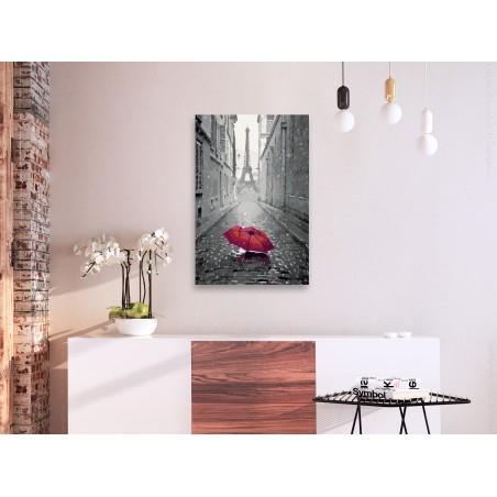 Quadro fai da te - Parigi (ombrello rosso) - Quadri e decorazioni