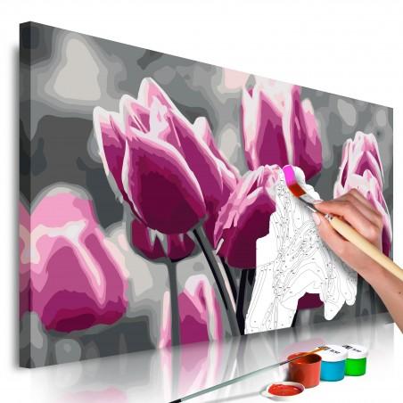 Quadro fai da te - Campo di tulipani - Quadri e decorazioni