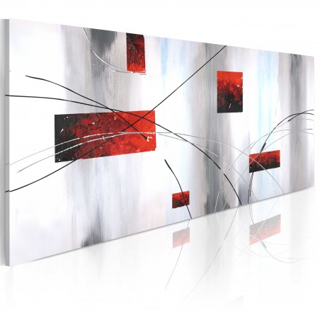 Quadro dipinto - Manifestazione geometrica - Quadri e decorazioni