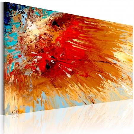 Quadro dipinto - Esplosione - Quadri e decorazioni