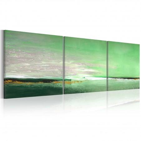 Quadro dipinto - Costa acquamarina - Quadri e decorazioni