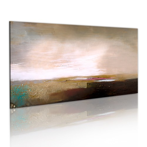 Quadro dipinto - Dopo la tempesta - Quadri e decorazioni