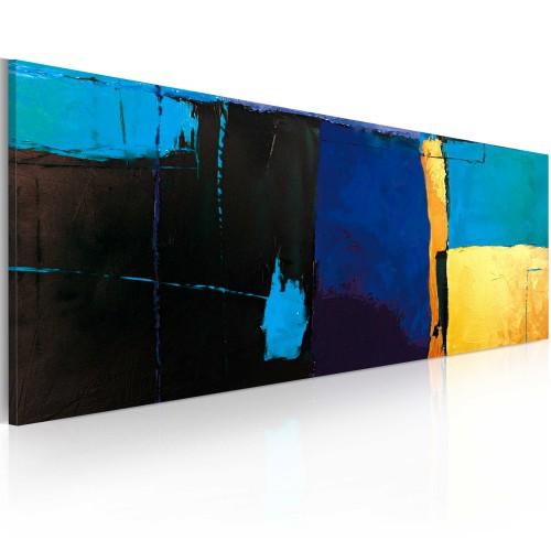 Quadro dipinto - Fascino dell'azzurro - Quadri e decorazioni