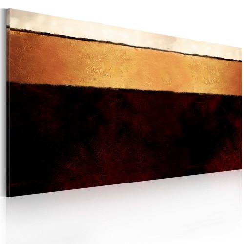 Quadro dipinto - Strati della Terra - Quadri e decorazioni