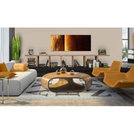 Quadro dipinto - Due texture - Quadri e decorazioni