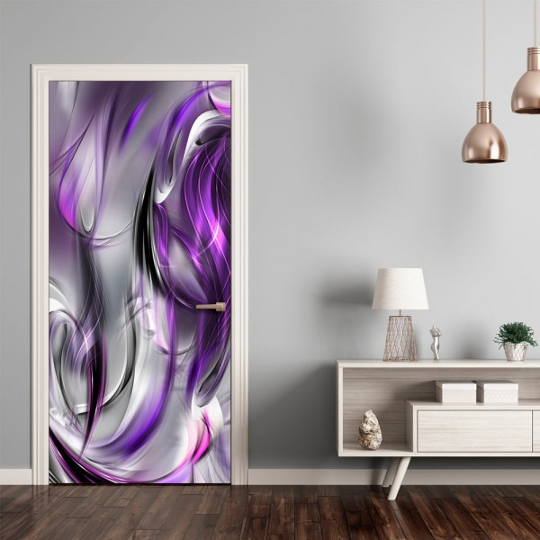 Fotomurale per porta - Photo wallpaper – Purple abstraction I - Quadri e decorazioni