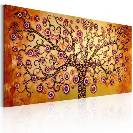 Quadro dipinto - Albero viola - Quadri e decorazioni