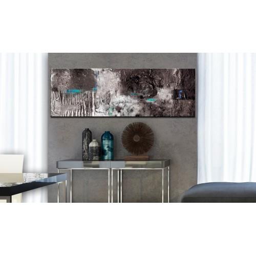 Quadro dipinto - Silver Machine - Quadri e decorazioni