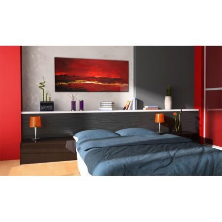 Quadro dipinto - Oceano rosso - Quadri e decorazioni