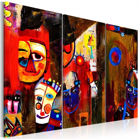 Quadro dipinto - Abstract Carnival - Quadri e decorazioni