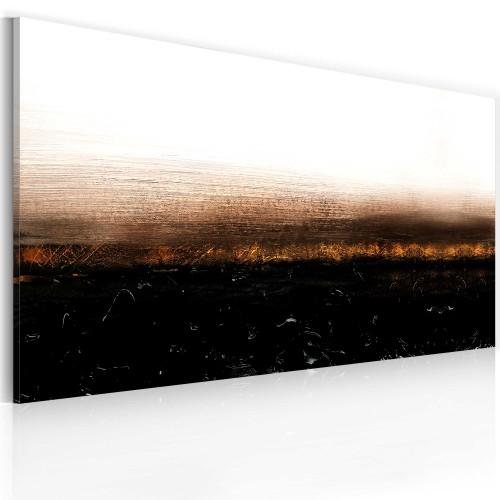 Quadro dipinto - Black soil (Abstraction) - Quadri e decorazioni