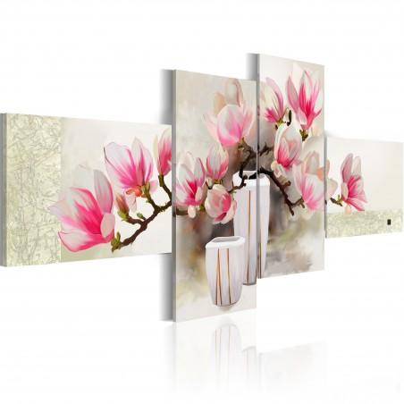 Quadro dipinto - Profumo di magnolia - Quadri e decorazioni