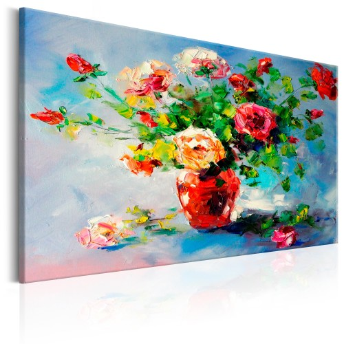 Quadro dipinto - Beautiful Roses - Quadri e decorazioni