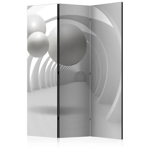 Paravento - White Tunnel [Room Dividers] - Quadri e decorazioni