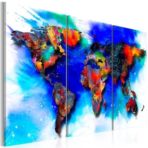 Quadro - Rainbow map - Quadri e decorazioni