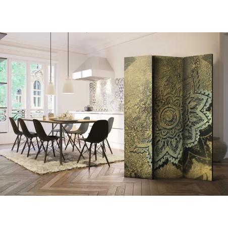 Paravento - Golden Treasure [Room Dividers] - Quadri e decorazioni
