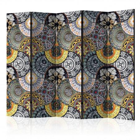 Paravento - Painted Exoticism II [Room Dividers] - Quadri e decorazioni