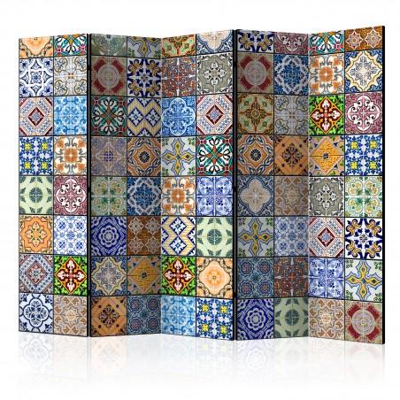 Paravento - Colorful Mosaic II [Room Dividers] - Quadri e decorazioni