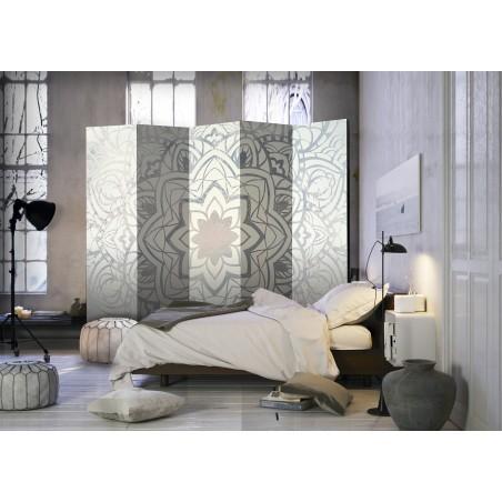 Paravento - Paravento: Mandala d'inverno II - Quadri e decorazioni