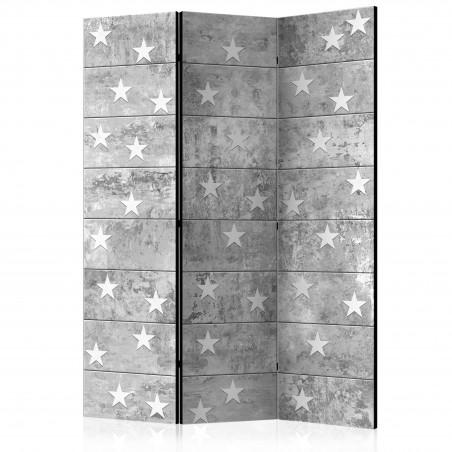Paravento - Stars on Concrete [Room Dividers] - Quadri e decorazioni