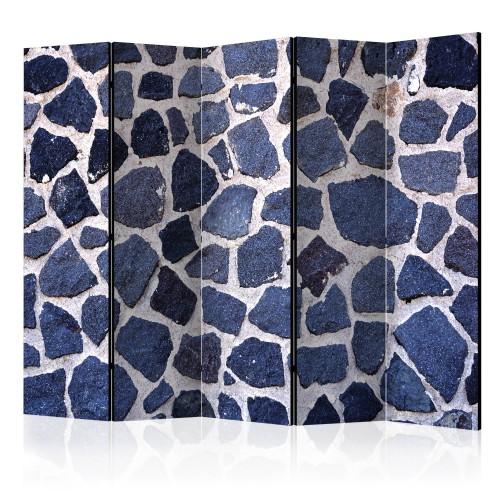 Paravento - Blue Summer II [Room Dividers] - Quadri e decorazioni