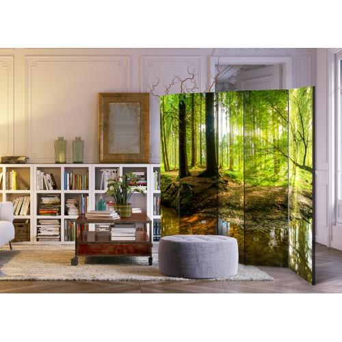 Paravento - Forest Lake II [Room Dividers] - Quadri e decorazioni