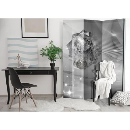 Paravento - Abstract Greyness [Room Dividers] - Quadri e decorazioni