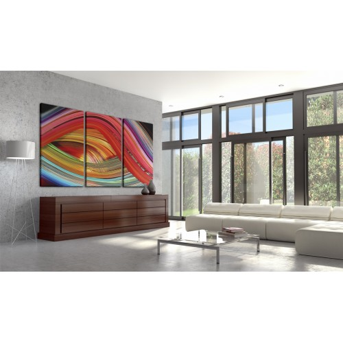 Quadro - Arcobaleno astratto - Quadri e decorazioni