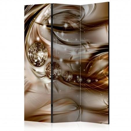 Paravento - Chocolate Tide [Room Dividers] - Quadri e decorazioni