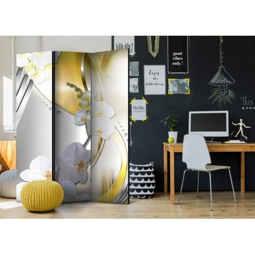 Paravento - Yellow Journey [Room Dividers] - Quadri e decorazioni