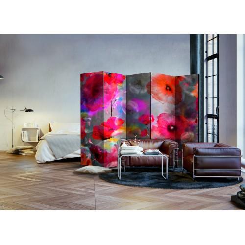 Paravento - Painted Poppies II [Room Dividers] - Quadri e decorazioni