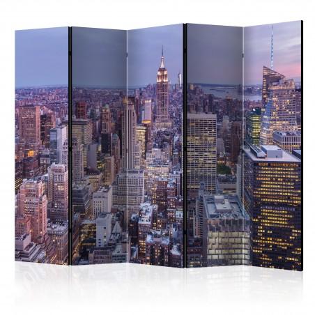 Paravento - Evening City II [Room Dividers] - Quadri e decorazioni