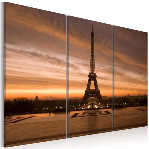 Quadro - Torre Eiffel al tramonto - Quadri e decorazioni