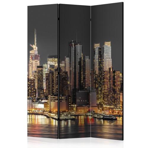 Paravento - New York at Twilight [Room Dividers] - Quadri e decorazioni