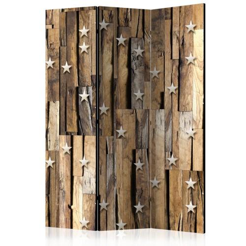 Paravento - Wooden Constellation [Room Dividers] - Quadri e decorazioni