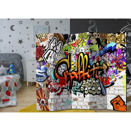 Paravento - Colourful Style [Room Dividers] - Quadri e decorazioni