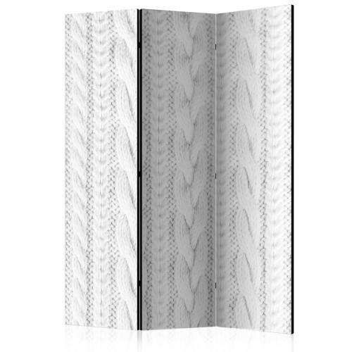 Paravento - White Knit [Room Dividers] - Quadri e decorazioni