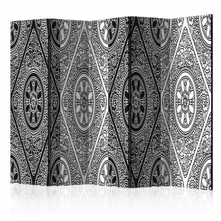 Paravento - Ethnic Monochrome II [Room Dividers] - Quadri e decorazioni