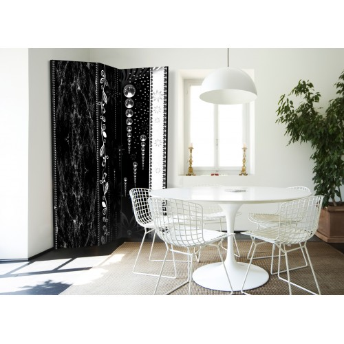 Paravento - Black Elegance [Room Dividers] - Quadri e decorazioni