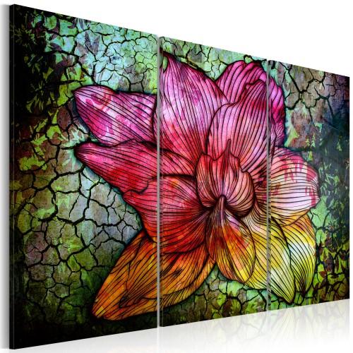 Quadro - Fiore astratto iridato - Quadri e decorazioni