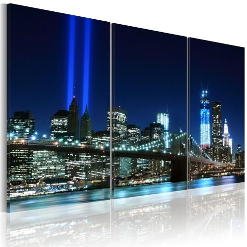Quadro - Luci azzurre di New York - Quadri e decorazioni