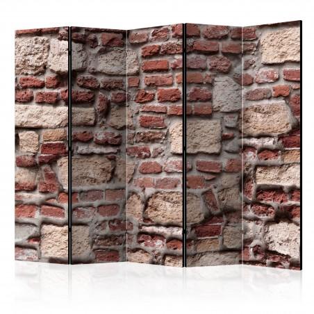 Paravento - Vintage Wall II [Room Dividers] - Quadri e decorazioni
