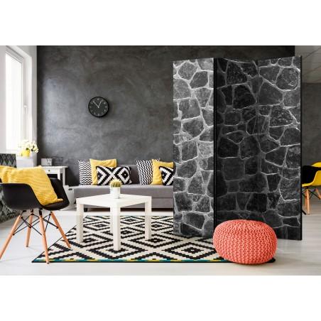 Paravento - Black Stones [Room Dividers] - Quadri e decorazioni