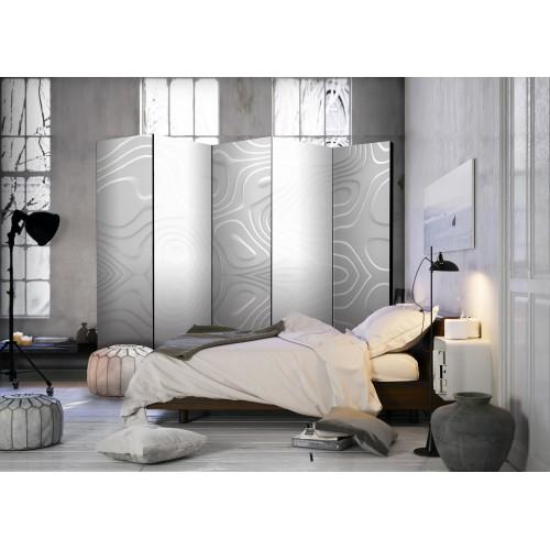 Paravento - Room divider - White waves II - Quadri e decorazioni