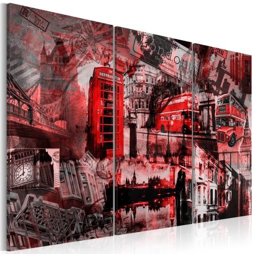 Quadro - Londra rossa - Quadri e decorazioni