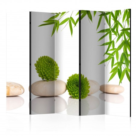 Paravento - Green Relax II [Room Dividers] - Quadri e decorazioni