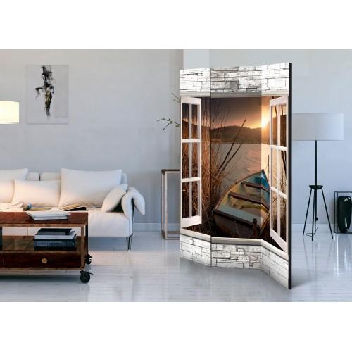 Paravento - Autumnal Lake [Room Dividers] - Quadri e decorazioni