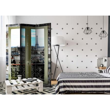 Paravento - Parisian View [Room Dividers] - Quadri e decorazioni